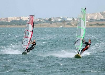 Cartagena surfing