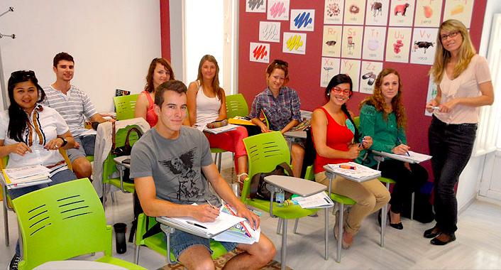 스페인어 어학코스 학생들